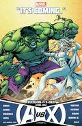 AvX Hulk vs. Emma Frost