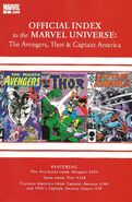 Avengers, Thor & Captain America Official Index to the Marvel Universe Vol 1 8