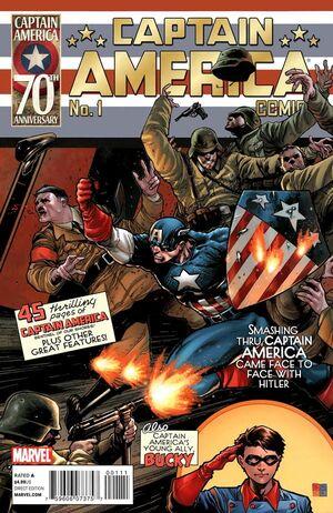Captain America Comics 70th Anniversary Edition Vol 1 1