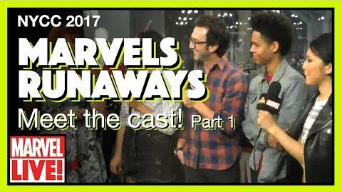 Cast of Hulu's Runaways (Part 1) -- Marvel LIVE! NYCC 2017