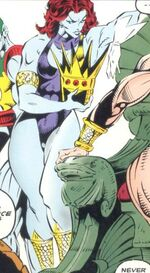 Dorma (Earth-9966) from Fantastic Four Unlimited Vol 1 6
