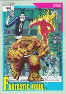 Fantastic Four (Earth-616) from Marvel Universe Cards Series II 0001