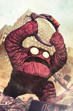 Howling Commandos of S.H.I.E.L.D. Vol 1 1 Kirby Monster Variant Textless