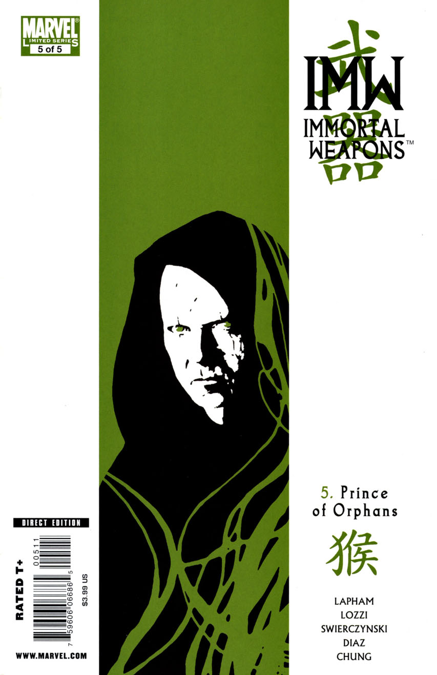 Immortal Weapons Vol 1 5