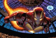 Iron Man Armor Model 45 from Iron Man Vol 5 8 002
