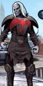 Knull (Earth-TRN461) and Knull's Symbiote (Earth-TRN461) from Spider-Man Unlimited (video game) 002