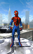 Peter Parker (Ben Reilly) (Earth-TRN499) from Spider-Man Unlimited (video game)