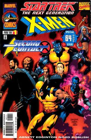 Star Trek X-Men 2nd Contact Vol 1 1