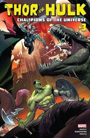 Thor vs. Hulk Champions of the Universe Vol 1 3