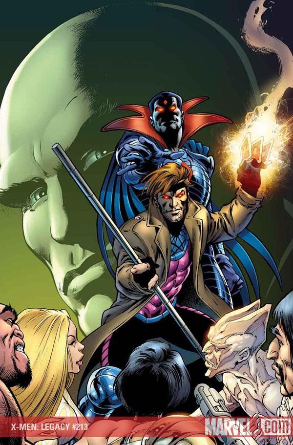 X-Men Legacy Vol 1 213 Textless