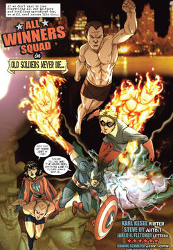 All-Winners Squad (Earth-616) from All Winners Comics 70th Anniversary Special Vol 1 1 0001