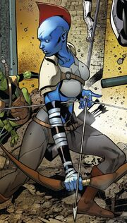 Delphinia (Earth-616) from Legendary Star-Lord Vol 1 5 001