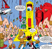 Doom Island from Peter Porker, The Spectacular Spider-Ham Vol 1 1 0001