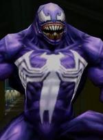 Edward Brock Jr. (Earth-TRN125) and Venom (Symbiote) (Earth-TRN125) from Ultimate Spider-Man Total Mayhem 001