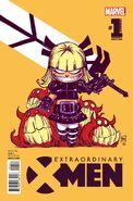 Extraordinary X-Men Annual Vol 1 1 Young Variant