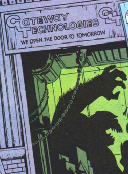 Gateway Technologies (Earth-616) from Excalibur Vol 1 1 001
