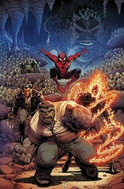 Immortal Hulk Vol 1 4 Return of the Fantastic Four Variant Textless