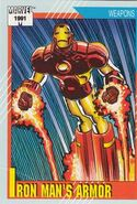 Iron Man's Armor from Marvel Universe Cards Series II 0001