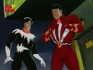 Jean-Paul Beaubier (Earth-92131) and Shiro Yoshida (Earth-92131) from X-Men The Animated Series Season 1 7 001