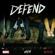 Marvel's The Defenders teaser poster 001
