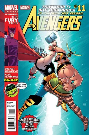 Marvel Universe Avengers - Earth's Mightiest Heroes Vol 1 11