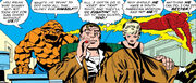 Nick Fury meets the Fantastic Four from Fantastic Four Vol 1 21