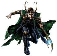 Thor Concept Art - Loki 010