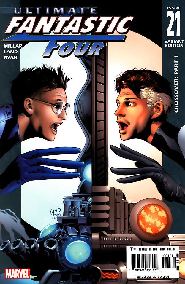 Ultimate Fantastic Four Vol 1 21 Variant.jpg