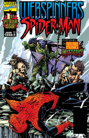 Webspinners Tales of Spider-Man Vol 1 1
