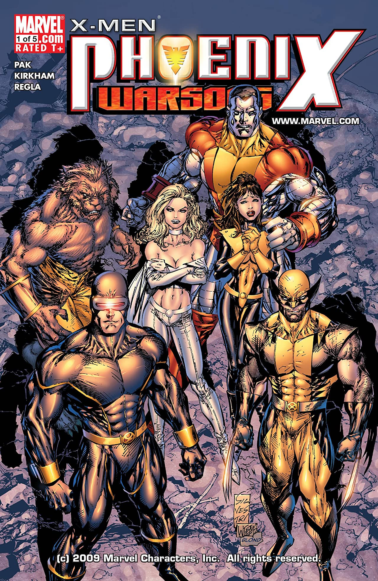 X-Men Phoenix Warsong Vol 1 1