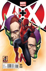 A + X Vol 1 1 50 Years of Spider-Man Variant