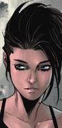 Ashley Barton (Earth-807128) from Old Man Hawkeye Vol 1 1 001