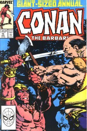 Conan the Barbarian Annual Vol 1 12