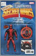 Deadpool's Secret Secret Wars Vol 1 1 Action Figure Variant