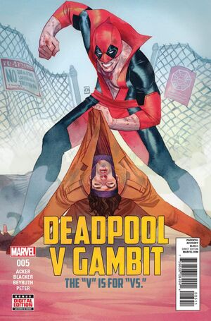 Deadpool v Gambit Vol 1 5