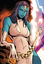 Deathstrique (Warp World) (Earth-616) from Secret Warps Weapon Hex Annual Vol 1 1 001