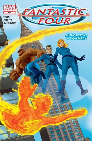 Fantastic Four Vol 1 508