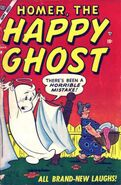 Homer, the Happy Ghost Vol 1 1