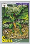 Karl Lykos (Earth-616) from Marvel Universe Cards Series II 0001