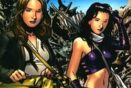 Katherine Bishop (Earth-616) and Jessica Jones (Earth-616) from Young Avengers Presents Vol 1 6 001