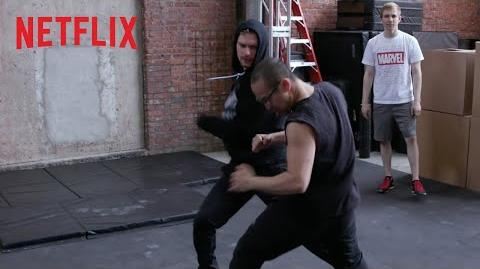 Marvel's Iron Fist Season 2 Building an Epic Fight Sequence Netflix