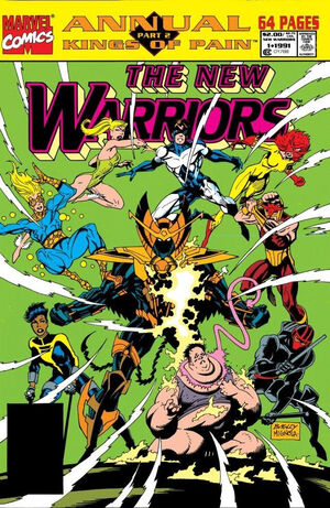 New Warriors Annual Vol 1 1