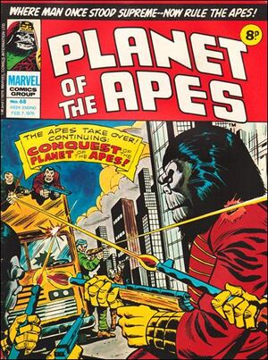 Planet of the Apes (UK) Vol 1 68