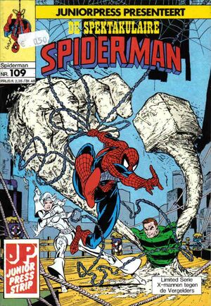 Spectaculaire Spiderman 109
