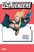 U.S.Avengers Vol 1 1 Kansas Variant