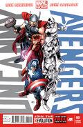 Uncanny Avengers Vol 1 1 Team Avengers Variant