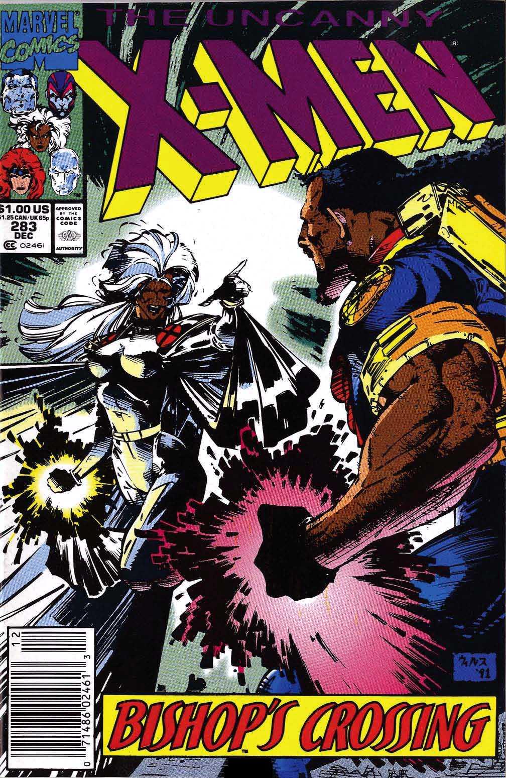 Uncanny X-Men Vol 1 283