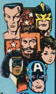 Avengers (Earth-616) from Avengers Vol 1 275 Cover