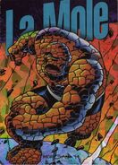 Benjamin Grimm (Earth-616) from Marvel Pepsi Cards (Trading Cards) 0001