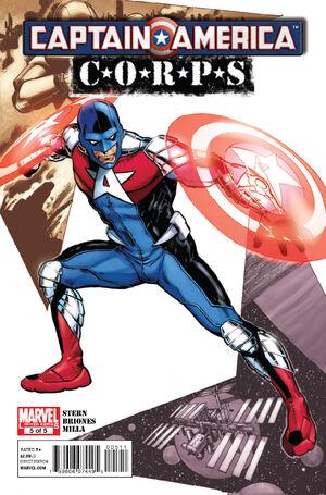Captain America Corps Vol 1 5